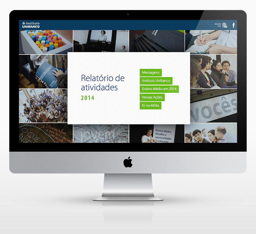 Relatório de Atividades – Instituto Unibanco